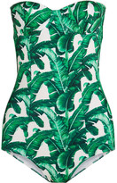 Dolce & Gabbana Printed Swimsuit - Jade