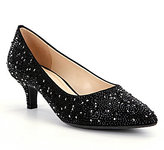 Alex Marie Zhoey Stone Embellished Dress Pumps