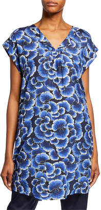 Masai Hadeen Printed A-Shape Short-Sleeve Tunic