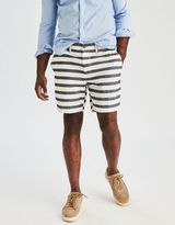 """American Eagle Outfitters AE Slim 7"""" Flat Front Short"""
