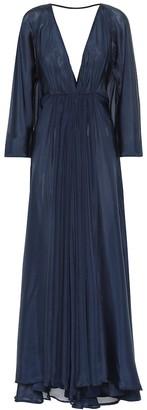 Kalita Clemence silk gown