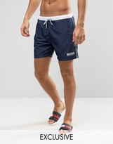 HUGO BOSS BOSS By Star Fish Swim Short Exclusive Navy