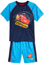 Disney 2-Pc. Lightning McQueen Graphic-Print T-Shirt & Shorts Set, Toddler & Little Boys (2T-7)