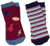 Gymboree Patch & Stripe Socks