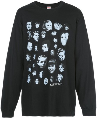 Supreme faces long sleeve T-shirt