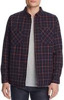 Banks Journal Momentum Plaid Button-Down Shirt Jacket