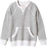 Joe Fresh Kid Boys' Stripe Popover, Light Oat Mix (Size XL)