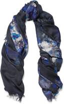 Lily & Lionel Martha printed silk scarf