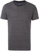 Woolrich striped T-shirt - men - Cotton/Linen/Flax - S