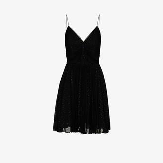 Saint Laurent Fil Coupe Mini Dress