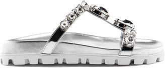 Miu Miu Sandal Metal