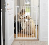 Babydan Extra Tall Pressure Indicator Safety Gate (White) by