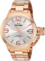 TW Steel Men's CB161 Analog Display Quartz Rose Gold Watch