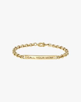 Dru Diamond 'Call Your Mom' ID Bracelet