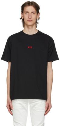 424 Black Logo T-Shirt