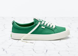 Cariuma OCA Low Green Canvas Sneaker Women