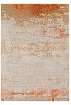 Surya Ephemeral Hand-Knotted Silk and Wool Rug