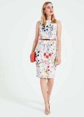 Phase Eight Jaida Floral Peplum Dress