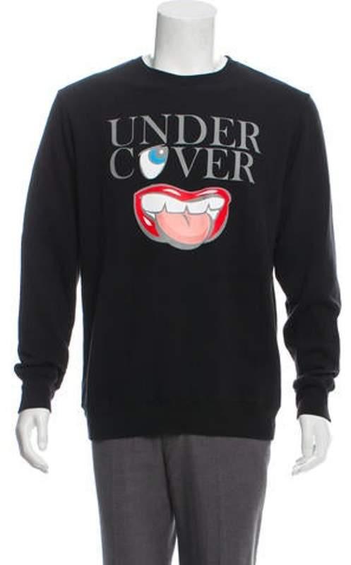 Undercover Graphic Knit Sweatshirt black Graphic Knit Sweatshirt