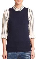 Frame Wool & Cashmere Sleeveless Sweater