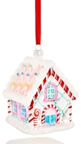 Holiday Lane Glass Gingerbread House Ornament, Created for Macy's