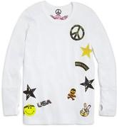 So Nikki... Girls' Camo & Peace Appliqué Tee - Sizes S-XL