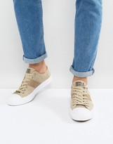 Converse Chuck Taylor All Star II Ox Sneakers In Beige Mesh 155750C