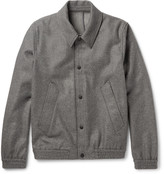 Ami - Slim-fit Wool-blend Blouson Jacket