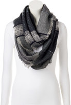 Lauren Conrad Space-Dyed Slubbed Striped Infinity Scarf