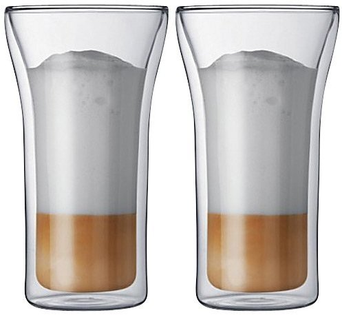 Bodum Assam Double-Wall Cooler/Beer Glass (Set of 2)
