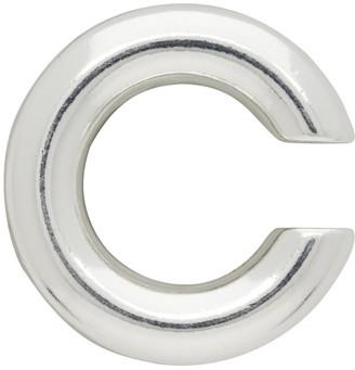 Saskia Diez Silver Bold No. 2 Single Ear Cuff