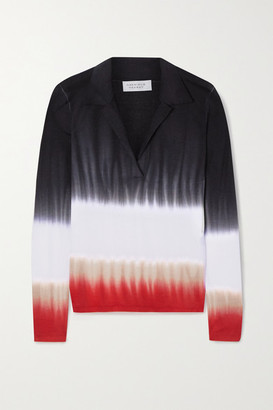 Gabriela Hearst Elaine Tie-dyed Cashmere Sweater - Red