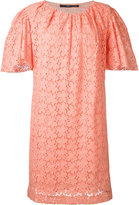 Maurizio Pecoraro embroidered dress - women - Cotton - 42