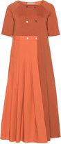 Isolde Roth Plus Size Asymmetric cotton-blend dress