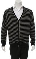 Maison Margiela Striped Knit Cardigan
