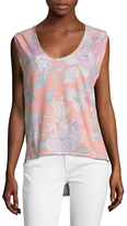 Free People Gardenia Scoopneck Tee