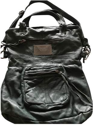 Zadig & Voltaire Touly Green Leather Handbags