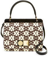 Orla Kiely Double Robin Leather Handbag