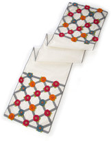 Mackenzie Childs MacKenzie-Childs Tic-Tac-Posie Table Runner