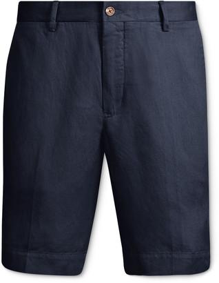 Polo Ralph Lauren Newport Linen, Lyocell And Cotton-Blend Shorts