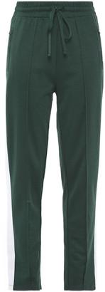 The Upside Electric Ny Striped Cotton-blend Jersey Track Pants