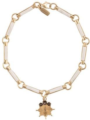Foundrae 18kt yellow gold Wood Element bracelet