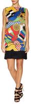 Love Moschino Printed Shift Dress