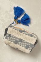 Anthropologie Byron Woven Cosmetic Pouch