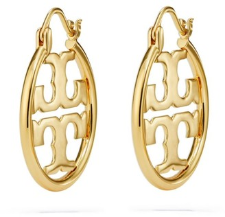 Tory Burch Miller Small Hoop Earring