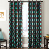 JCPenney SOFTLINE HOME FASHIONS Edison Circle Grommet-Top Curtain Panel