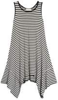 Soprano Racerback Stripe Handkerchief Dress