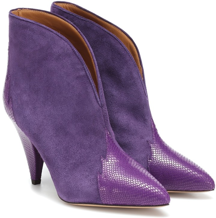 Isabel Marant Archee suede ankle boots
