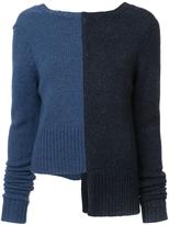 ADAM by Adam Lippes Paneled Sweater