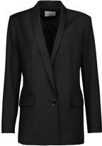 Sandro Viki wool-crepe blazer